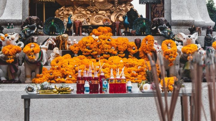 Why Do People Leave Red Fanta At Shrines In Thailand?