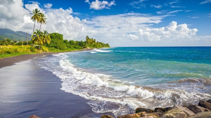Does St Kitts & Nevis Have Black Sand Beaches?